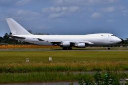 航空フォト:N405KZ アトラス航空 747-400