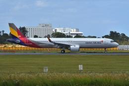 harahara555さんが、成田国際空港で撮影したアシアナ航空 A321-251NXの航空フォト(飛行機 写真・画像)