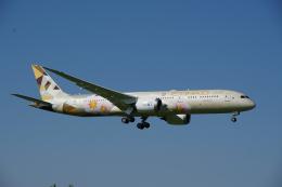zibaさんが、成田国際空港で撮影したエティハド航空 787-9の航空フォト(飛行機 写真・画像)