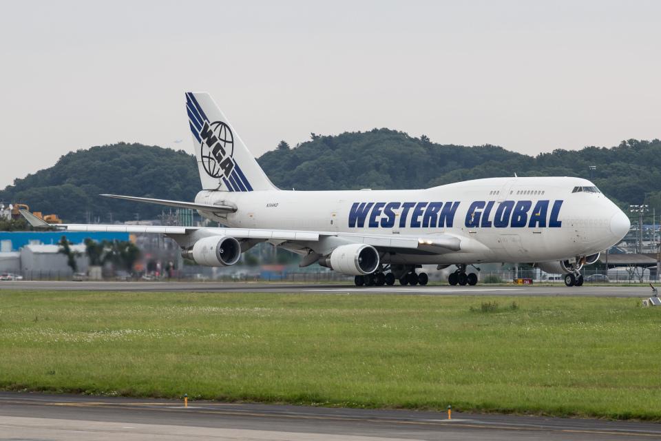KANTO61さんのウエスタン・グローバル・エアラインズ Boeing 747-400 (N344KD) 航空フォト