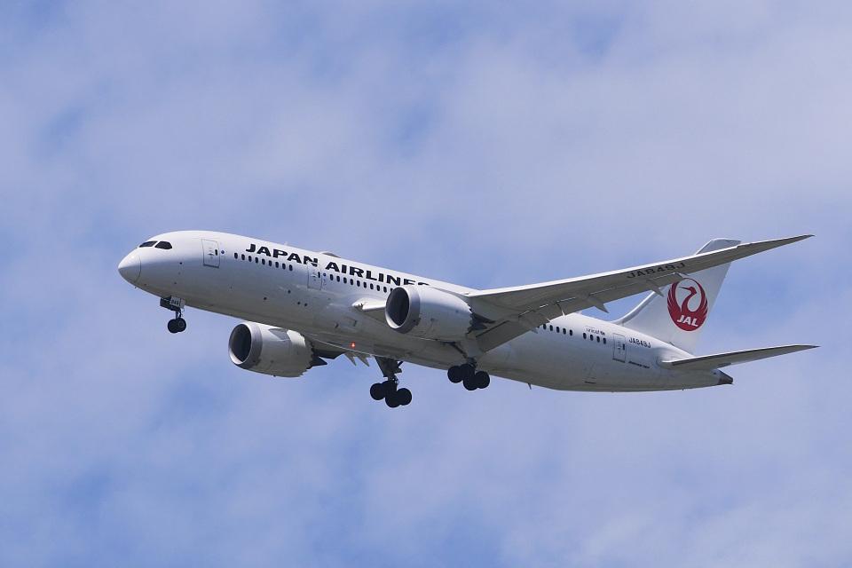 飛行機ゆうちゃんさんの日本航空 Boeing 787-8 Dreamliner (JA849J) 航空フォト