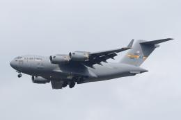 mogusaenさんが、横田基地で撮影したアメリカ空軍 C-17A Globemaster IIIの航空フォト(飛行機 写真・画像)
