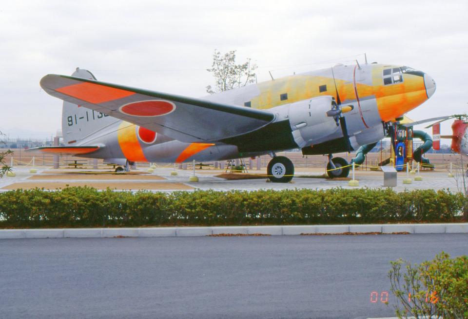 apphgさんの航空自衛隊 Curtiss C-46 Commando (91-1138) 航空フォト