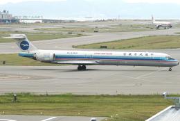 jun☆さんが、関西国際空港で撮影した中国北方航空 MD-90-30の航空フォト(飛行機 写真・画像)