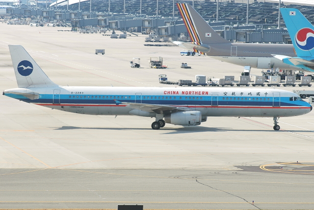 jun☆さんが、関西国際空港で撮影した中国北方航空 A321-231の航空フォト(飛行機 写真・画像)