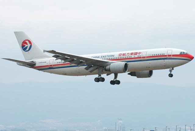 jun☆さんが、関西国際空港で撮影した中国東方航空 A300B4-605Rの航空フォト(飛行機 写真・画像)