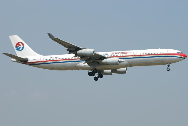 jun☆さんが、成田国際空港で撮影した中国東方航空 A340-313Xの航空フォト(飛行機 写真・画像)