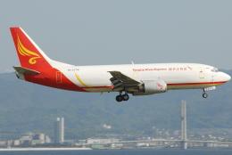 jun☆さんが、関西国際空港で撮影した揚子江快運航空 737-33A(SF)の航空フォト(飛行機 写真・画像)