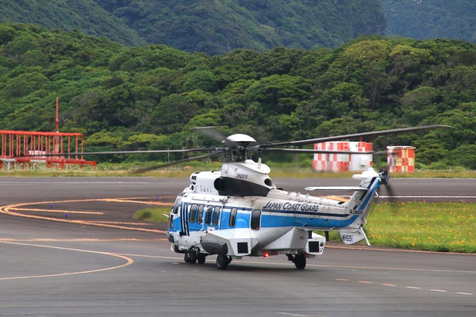 じーのさんさんの海上保安庁 Airbus Helicopters H225 (JA691A) 航空フォト