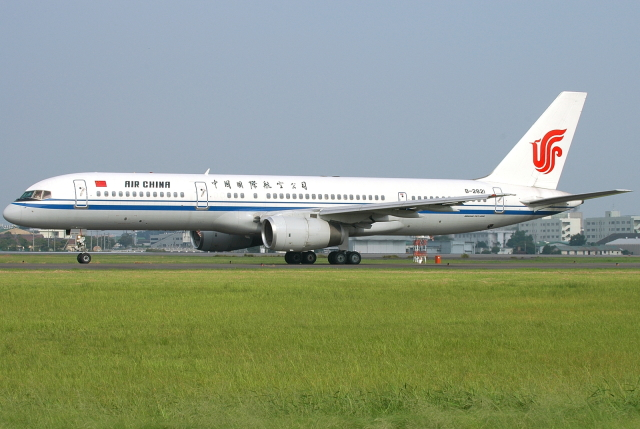 jun☆さんが、名古屋飛行場で撮影した中国国際航空 757-2Z0の航空フォト(飛行機 写真・画像)