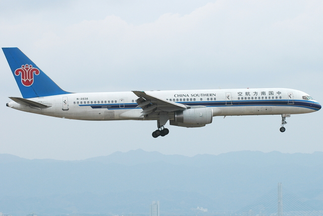 jun☆さんが、関西国際空港で撮影した中国南方航空 757-2Z0の航空フォト(飛行機 写真・画像)