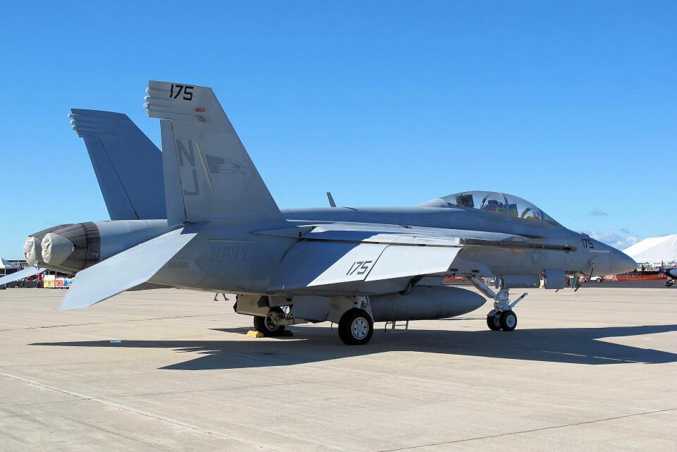 woodpeckerさんのアメリカ海軍 Boeing F/A-18 (166926) 航空フォト