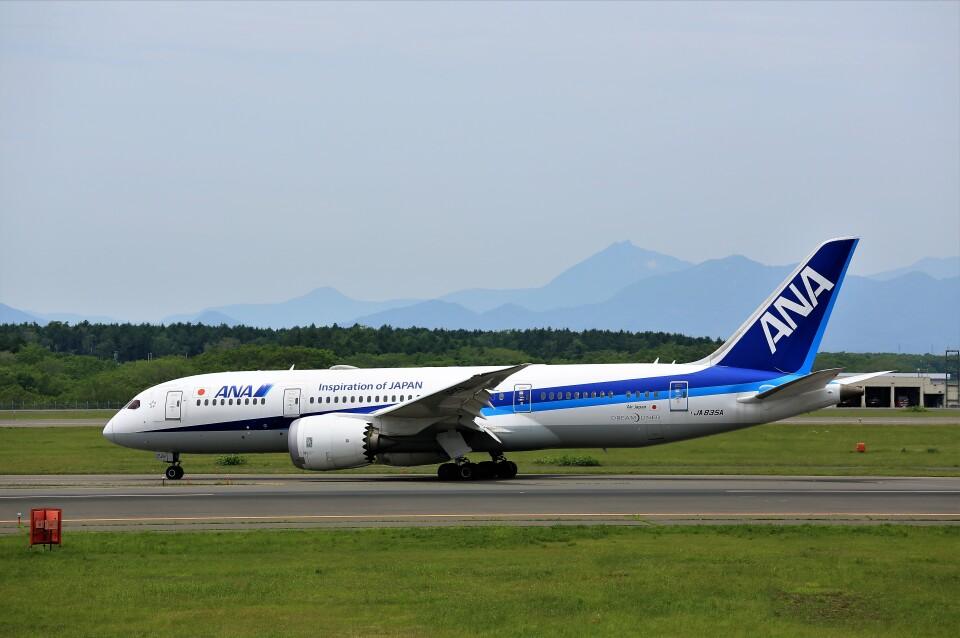 にしやんさんの全日空 Boeing 787-8 Dreamliner (JA835A) 航空フォト