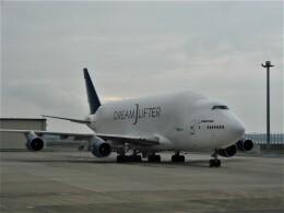 C.B.Airwaysさんが、中部国際空港で撮影したボーイング 747-409(LCF) Dreamlifterの航空フォト(飛行機 写真・画像)