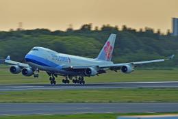 Souma2005さんが、成田国際空港で撮影したチャイナエアライン 747-409F/SCDの航空フォト(飛行機 写真・画像)