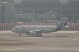 磐城さんが、スワンナプーム国際空港で撮影したカンボジア・エアウェイズ A319-112の航空フォト(飛行機 写真・画像)