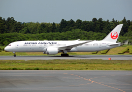 NINEJETSさんが、成田国際空港で撮影した日本航空 787-9の航空フォト(飛行機 写真・画像)