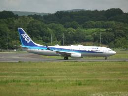 ヒコーキグモさんが、岡山空港で撮影した全日空 737-8ALの航空フォト(飛行機 写真・画像)