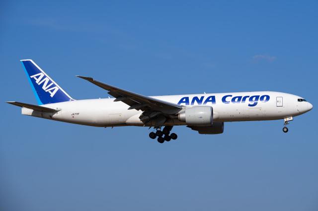 Tatsuya.Kさんが、成田国際空港で撮影した全日空 777-F81の航空フォト(飛行機 写真・画像)