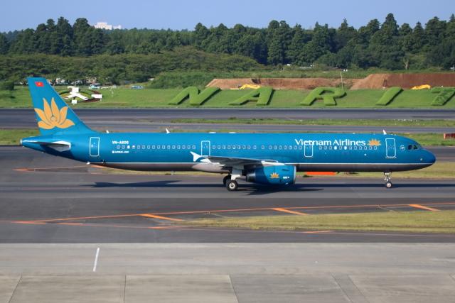 ▲®さんが、羽田空港で撮影したベトナム航空 A321-231の航空フォト(飛行機 写真・画像)