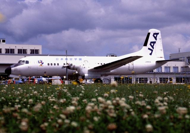 ITM58さんが、能登空港で撮影した日本航空学園 YS-11A-500の航空フォト(飛行機 写真・画像)