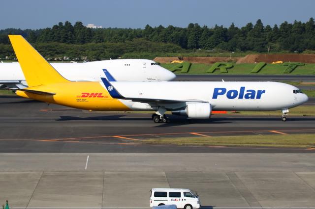 ▲®さんが、羽田空港で撮影したポーラーエアカーゴ 767-3JHF(ER)の航空フォト(飛行機 写真・画像)
