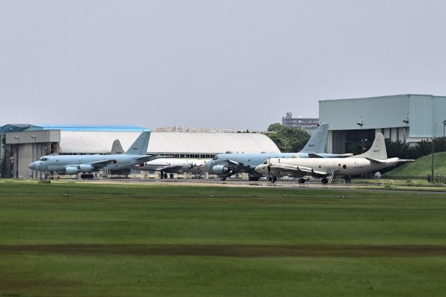 juntamiさんが、厚木飛行場で撮影した海上自衛隊 P-1の航空フォト(飛行機 写真・画像)