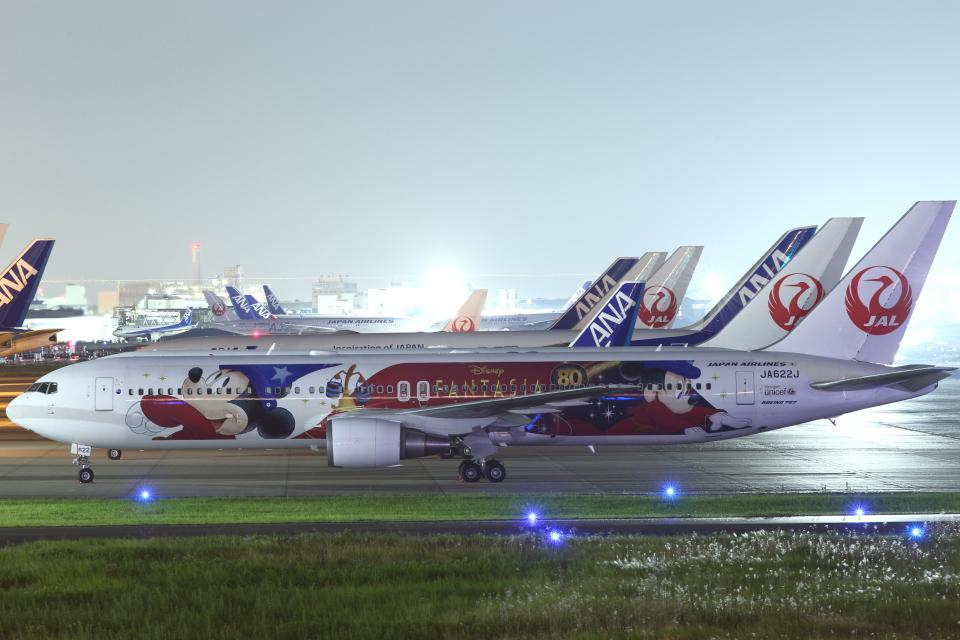 いんちゃんさんの日本航空 Boeing 767-300 (JA622J) 航空フォト