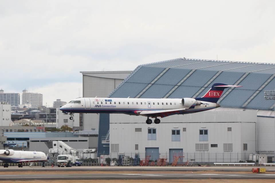 平凡なおっちゃんさんのアイベックスエアラインズ Bombardier CRJ-700 (JA11RJ) 航空フォト
