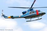 Chofu Spotter Ariaさんが、東京ヘリポートで撮影した警視庁 412の航空フォト(飛行機 写真・画像)