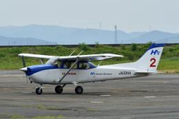 Gambardierさんが、岡南飛行場で撮影した本田航空 172S Skyhawk SPの航空フォト(飛行機 写真・画像)