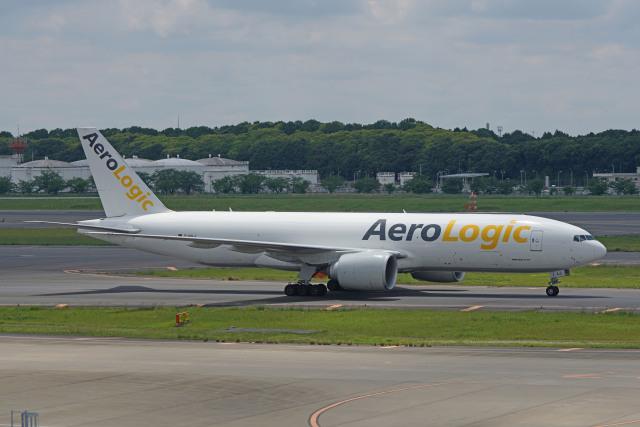 ちゃぽんさんが、成田国際空港で撮影したアエロ・ロジック 777-F6Nの航空フォト(飛行機 写真・画像)