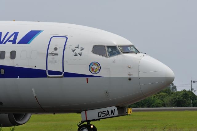 kimu81さんが、高知空港で撮影した全日空 737-781の航空フォト(飛行機 写真・画像)