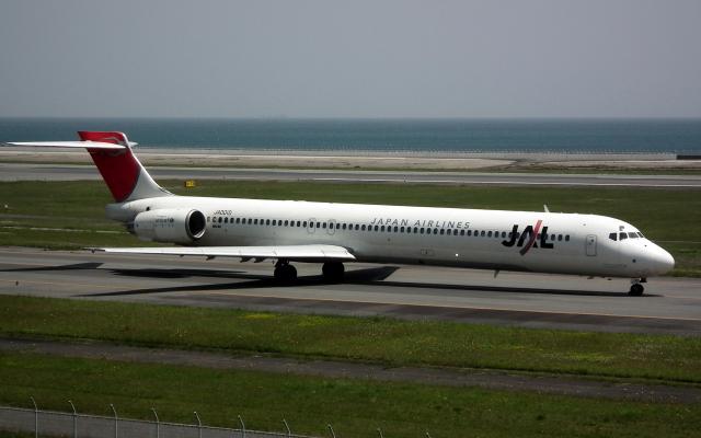 asuto_fさんが、大分空港で撮影した日本航空 MD-90-30の航空フォト(飛行機 写真・画像)