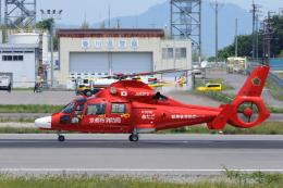 よっしぃさんが、高松空港で撮影した京都市消防航空隊 AS365N3 Dauphin 2の航空フォト(飛行機 写真・画像)
