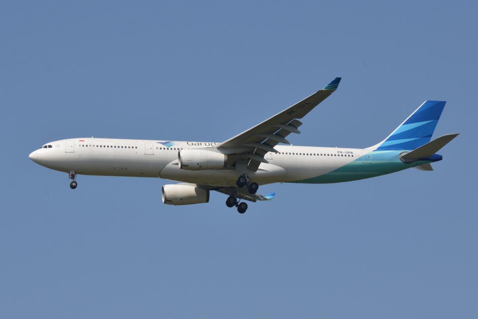 Deepさんのガルーダ・インドネシア航空 Airbus A330-300 (PK-GPA) 航空フォト