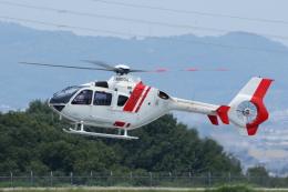 よっしぃさんが、高松空港で撮影した学校法人ヒラタ学園 航空事業本部 EC135P2+の航空フォト(飛行機 写真・画像)