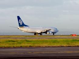TA27さんが、オークランド空港で撮影したニュージーランド航空 737-3K2の航空フォト(飛行機 写真・画像)