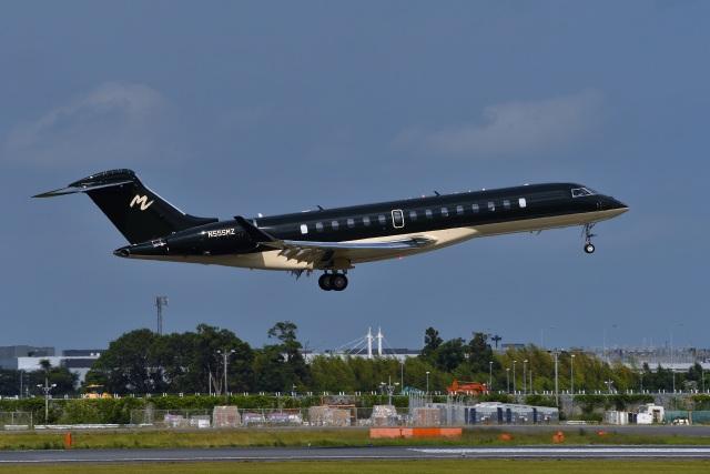 harahara555さんが、成田国際空港で撮影したアメリカ企業所有 BD-700-2A12 Global 7500の航空フォト(飛行機 写真・画像)