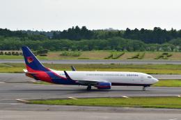 チョロ太さんが、成田国際空港で撮影した広東龍浩航空 737-8AS(BCF)の航空フォト(飛行機 写真・画像)