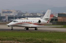 磐城さんが、台北松山空港で撮影した朝日航洋 680 Citation Sovereignの航空フォト(飛行機 写真・画像)