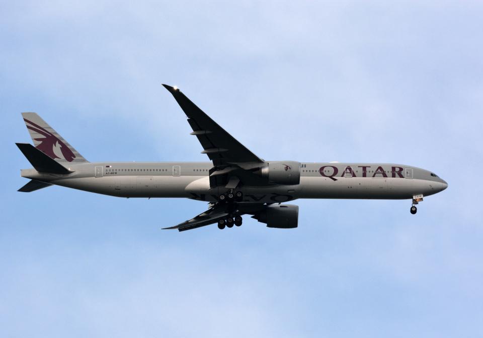 アルビレオさんのカタール航空 Boeing 777-300 (A7-BEW) 航空フォト