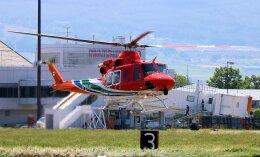 taikirikioさんが、松本空港で撮影した長野県消防防災航空隊 412EPIの航空フォト(飛行機 写真・画像)
