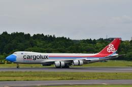 チョロ太さんが、成田国際空港で撮影したカーゴルクス 747-8R7F/SCDの航空フォト(飛行機 写真・画像)