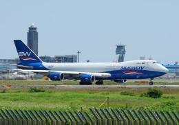 アルビレオさんが、成田国際空港で撮影したシルクウェイ・ウェスト・エアラインズ 747-83QFの航空フォト(飛行機 写真・画像)