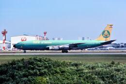 パール大山さんが、成田国際空港で撮影したTMAカーゴ 707-321Cの航空フォト(飛行機 写真・画像)