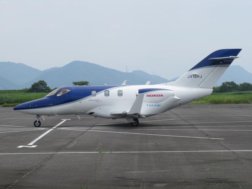F.YUKIHIDEさんの日本法人所有 Honda HA-420 HondaJet (JA10HJ) 航空フォト