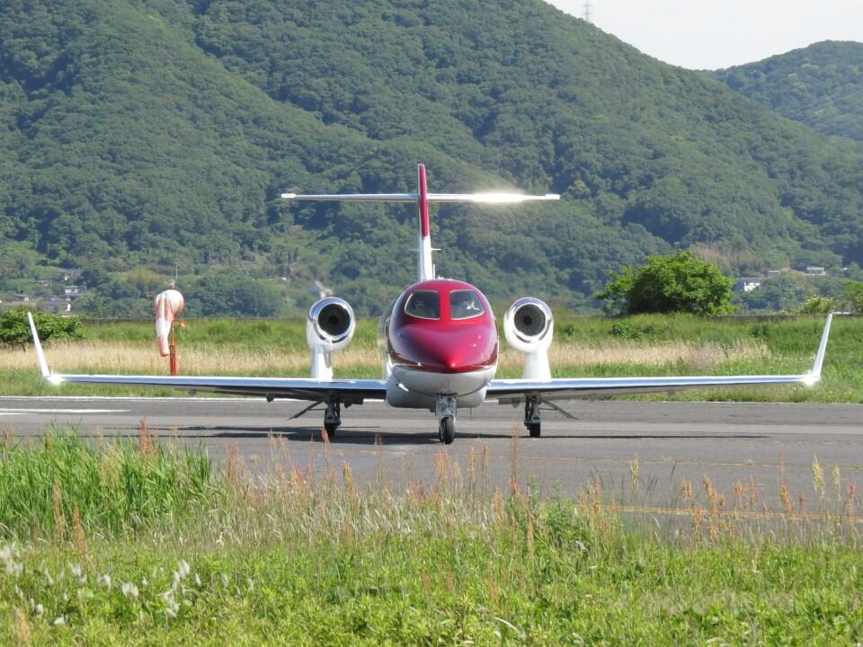 F.YUKIHIDEさんの日本法人所有 Honda HA-420 HondaJet (JA777J) 航空フォト