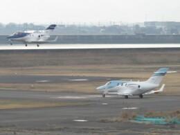 F.YUKIHIDEさんが、岡南飛行場で撮影した日本法人所有 HA-420の航空フォト(飛行機 写真・画像)