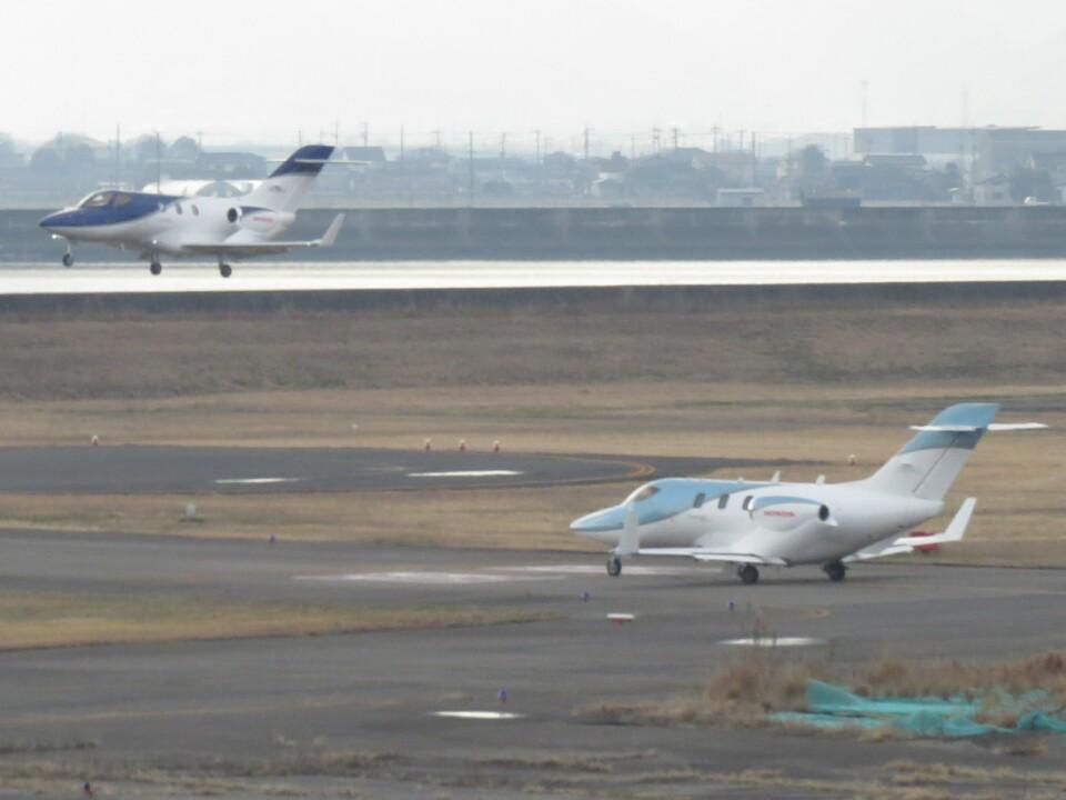 F.YUKIHIDEさんの日本法人所有 Honda HA-420 HondaJet (JA01HJ) 航空フォト